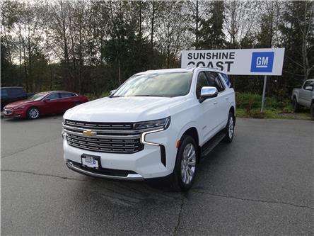 2021 Chevrolet Tahoe Premier (Stk: TM139576) in Sechelt - Image 1 of 25