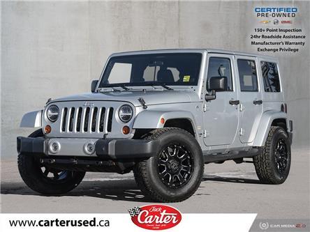 2012 Jeep Wrangler Unlimited Sahara (Stk: 25832L) in Calgary - Image 1 of 25