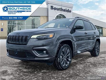 2021 Jeep Cherokee Limited (Stk: CE2105) in Red Deer - Image 1 of 25