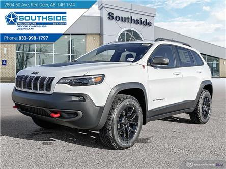 2021 Jeep Cherokee Trailhawk (Stk: CE2102) in Red Deer - Image 1 of 25