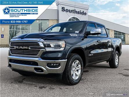 2021 RAM 1500 Laramie (Stk: NU181A) in Red Deer - Image 1 of 25