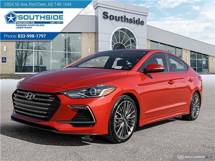 2018 Hyundai Elantra Sport (Stk: WR2081A) in Red Deer - Image 1 of 25