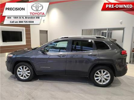 2016 Jeep Cherokee Limited (Stk: 203091) in Brandon - Image 1 of 27
