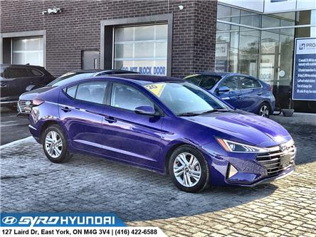 2020 Hyundai Elantra Preferred (Stk: H5959A) in Toronto - Image 1 of 28