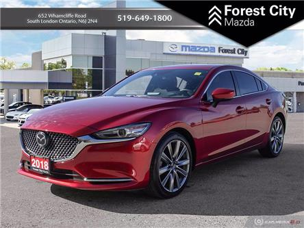 2018 Mazda MAZDA6 Signature (Stk: MW0158) in Sudbury - Image 1 of 16