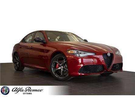 2020 Alfa Romeo Giulia ti (Stk: 1118) in Ottawa - Image 1 of 20