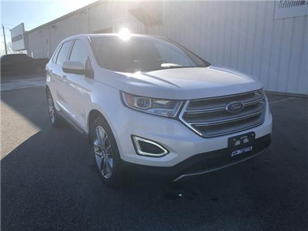 2016 Ford Edge Titanium (Stk: GBC47553) in Wallaceburg - Image 1 of 14