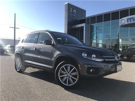 2014 Volkswagen Tiguan Highline (Stk: UM2502) in Chatham - Image 1 of 21