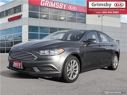 2017 Ford Fusion 1 owner, clean carfax, back up camera and more! (Stk: N3811A) in Grimsby - Image 1 of 25