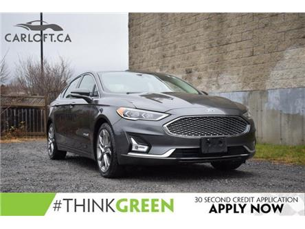 2019 Ford Fusion Hybrid Titanium (Stk: B6554) in Kingston - Image 1 of 30