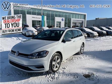 2019 Volkswagen Golf SportWagen 1.8 TSI Comfortline (Stk: 3619) in Calgary - Image 1 of 24