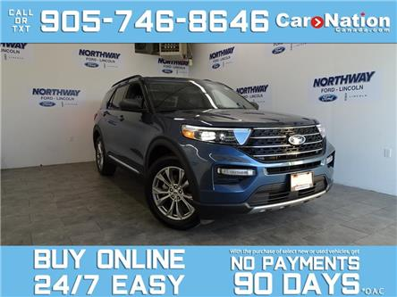 2020 Ford Explorer XLT | 4X4 | LEATHER | NAV | PANO ROOF | 20'' RIMS (Stk: P6095) in Brantford - Image 1 of 28