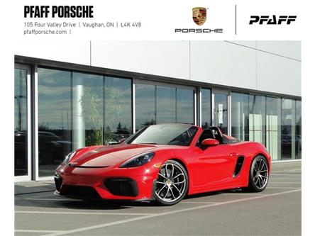 2020 Porsche 718 Spyder  (Stk: P16182) in Vaughan - Image 1 of 22