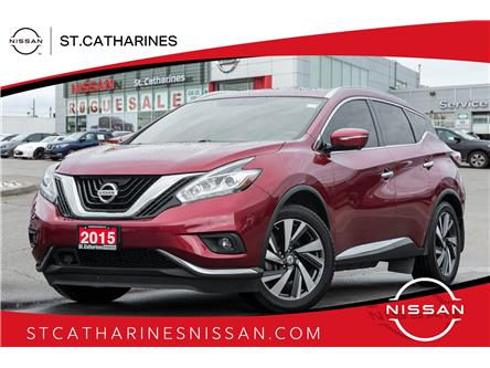 2015 Nissan Murano Platinum (Stk: P2842) in St. Catharines - Image 1 of 22