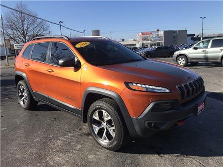 2016 Jeep Cherokee Trailhawk (Stk: 2813A) in Windsor - Image 1 of 13