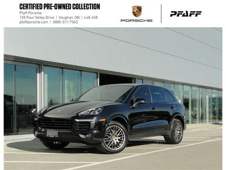 2018 Porsche Cayenne Platinum Edition (Stk: U9137) in Vaughan - Image 1 of 22