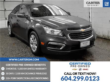 2016 Chevrolet Cruze Limited 1LT (Stk: F6-78881) in Burnaby - Image 1 of 20