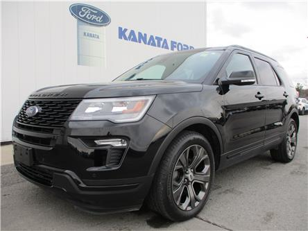 2018 Ford Explorer Sport (Stk: P50830) in Kanata - Image 1 of 12