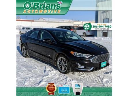 2019 Ford Fusion Hybrid Titanium (Stk: 13958A) in Saskatoon - Image 1 of 20