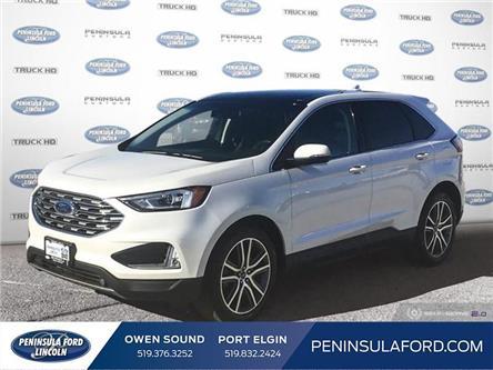 2019 Ford Edge Titanium (Stk: 2148) in Owen Sound - Image 1 of 25