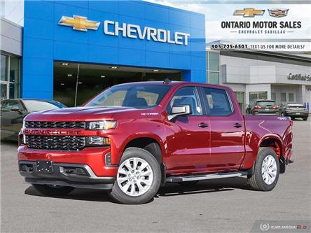 2021 Chevrolet Silverado 1500 Silverado Custom (Stk: T1132076) in Oshawa - Image 1 of 33