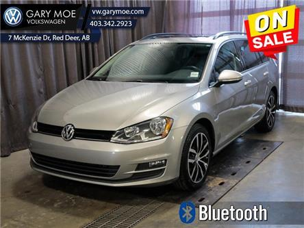 2017 Volkswagen Golf SportWagen 1.8 TSI Comfortline (Stk: VP7694) in Red Deer County - Image 1 of 25