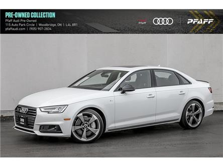 2018 Audi A4 2.0T Technik (Stk: C7969) in Woodbridge - Image 1 of 22