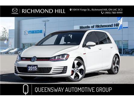 2015 Volkswagen Golf GTI 5-Door Autobahn (Stk: 21-143A) in Richmond Hill - Image 1 of 19