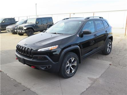 2018 Jeep Cherokee Trailhawk (Stk: 96172) in St. Thomas - Image 1 of 18