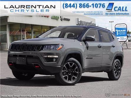 2021 Jeep Compass Trailhawk (Stk: 21042) in Sudbury - Image 1 of 23