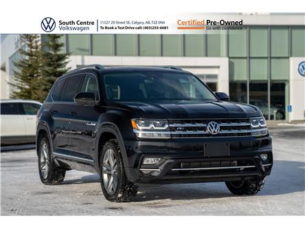 2019 Volkswagen Atlas 3.6 FSI Execline (Stk: U6661) in Calgary - Image 1 of 49