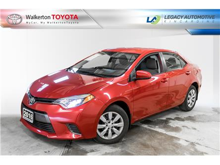 2016 Toyota Corolla LE (Stk: 21004A) in Kincardine - Image 1 of 16