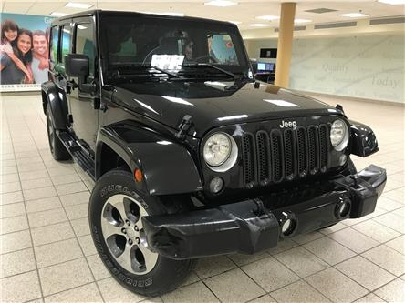 2016 Jeep Wrangler Unlimited Sahara (Stk: 210145A) in Calgary - Image 1 of 10
