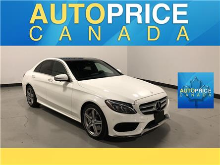 2017 Mercedes-Benz C-Class Base (Stk: W2164) in Mississauga - Image 1 of 28