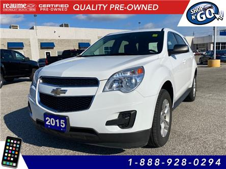 2015 Chevrolet Equinox LS (Stk: 21-0044A) in LaSalle - Image 1 of 24