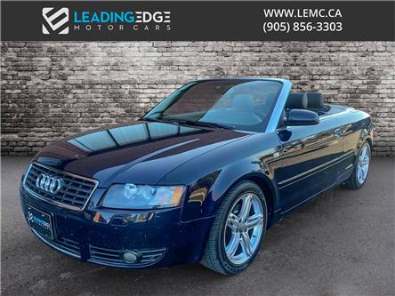 2004 Audi A4 1.8T (Stk: 18556) in King - Image 1 of 18