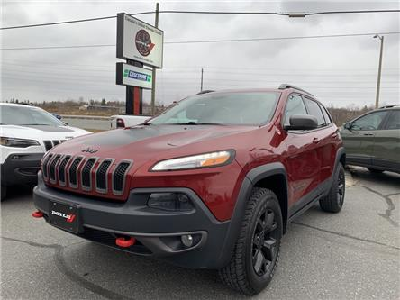 2016 Jeep Cherokee Trailhawk (Stk: 65921) in Sudbury - Image 1 of 21