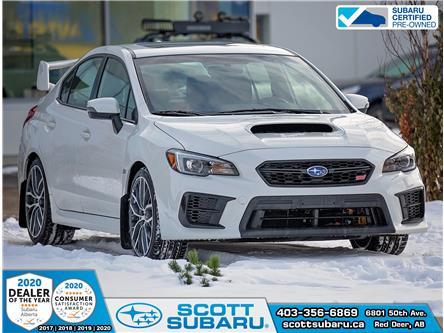 2020 Subaru WRX STI Sport-tech w/Wing (Stk: SS0396) in Red Deer - Image 1 of 22