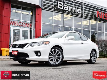 2014 Honda Accord EX-L-NAVI V6 (Stk: 20386A) in Barrie - Image 1 of 30