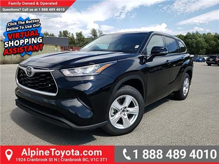 2020 Toyota Highlander LE (Stk: S034200) in Cranbrook - Image 1 of 23