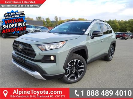 2021 Toyota RAV4 Trail (Stk: W145405) in Cranbrook - Image 1 of 26