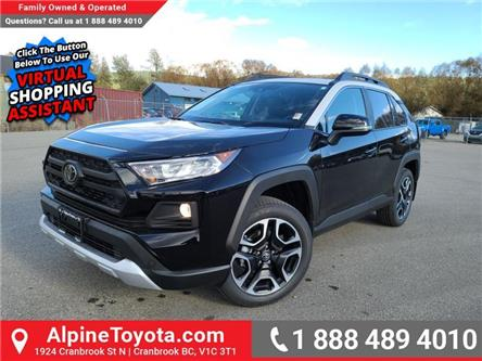2021 Toyota RAV4 Trail (Stk: W148759) in Cranbrook - Image 1 of 26