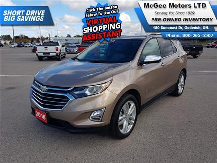 2018 Chevrolet Equinox Premier (Stk: 197361) in Goderich - Image 1 of 30