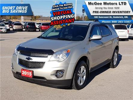 2015 Chevrolet Equinox 2LT (Stk: 209035) in Goderich - Image 1 of 27