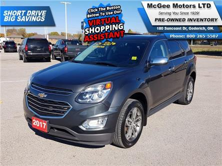 2017 Chevrolet Equinox Premier (Stk: 309649) in Goderich - Image 1 of 28
