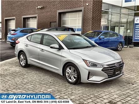 2019 Hyundai Elantra Preferred (Stk: H6135A) in Toronto - Image 1 of 28