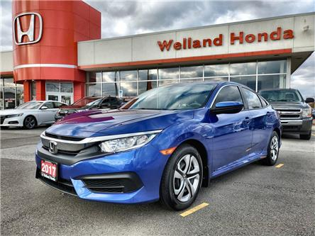 2017 Honda Civic LX (Stk: U20360) in Welland - Image 1 of 20
