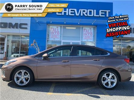 2019 Chevrolet Cruze Premier (Stk: PS20-047) in Parry Sound - Image 1 of 19