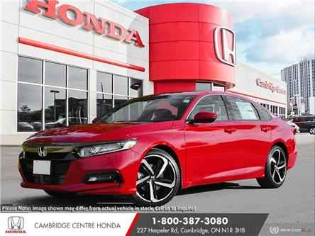 2020 Honda Accord Sport 1.5T (Stk: 21398) in Cambridge - Image 1 of 24