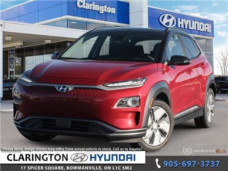 2021 Hyundai Kona EV Preferred w/Two Tone (Stk: 20761) in Clarington - Image 1 of 24